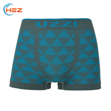 HSZ-0048 Top Underwear Brands Wholesale Supply In china Fashion Underwear Geometric Designer Made For Men Satin Panties