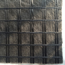 Suture geogrid, knitted Polyester geogrid composite nonwoven geotextile for asphalt pavement reinforcement