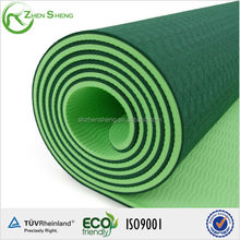 tpe yoga mat with yoga mat bag package