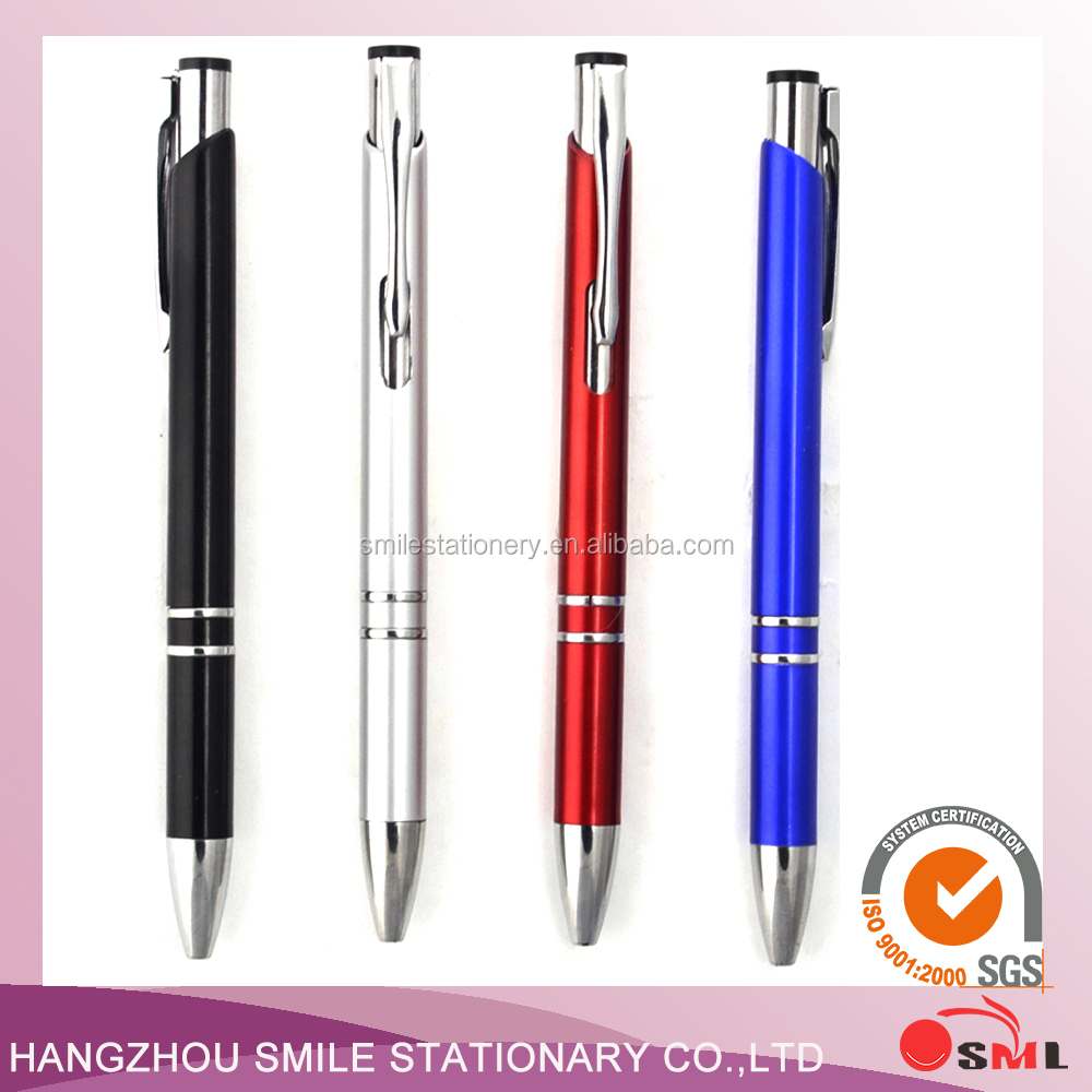 Logo plastic ball pen red heart cheap fancy pens