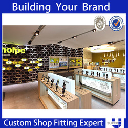 factory tailor made economic high quality mobile phone shop fitting