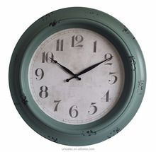 45cm vintage style plastic customized wall clock decor