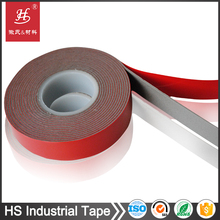 Waterproof double-sided adhesive heat resistant foam tape for solar panel bonding
