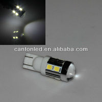 White T10 Samsung 5W 10 SMD 5630 High power LED SMD 194 W5W Projector LENS