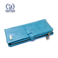 new designer lambskin leather wallet for woman