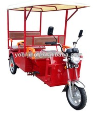 battery operated passenger rickshaw / tuktuk / tricycle for Indian market