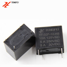 relay 4 pin 5A 12V PCB 32F mini Relay
