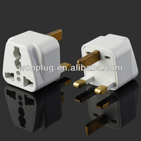 13A 250V female to male electrical plug adapter
