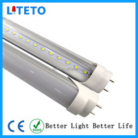 18w 20w 22w 120lm/W led tube bulb light t8 1200mm rotating end cap SKD component part supplier