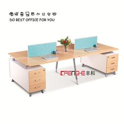 wooden design container office for 4 people YH-696