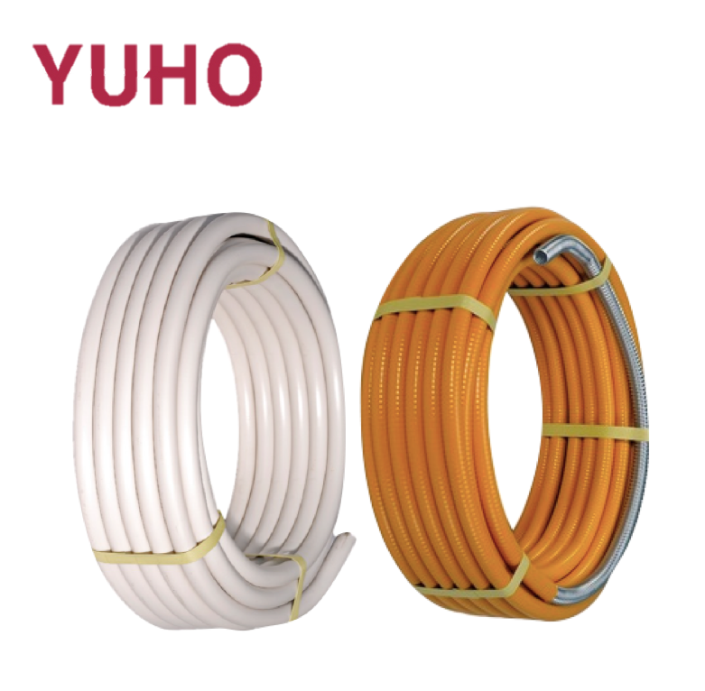 HOT SELLING Heat Resistant Flexible Customized 304 Stainless Steel Yellow Hose For Water or Gas