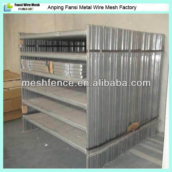 hot-dipped galvanized animal enclosure rail/tube fence/factory direct