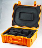 China factory trolley case waterproof case tool box plastic equipment plastic tool box