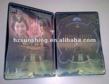 metal tin cd dvd case