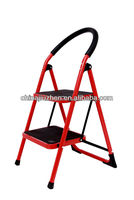 handrail steel step ladders, step steel stools, foldable step steel ladders