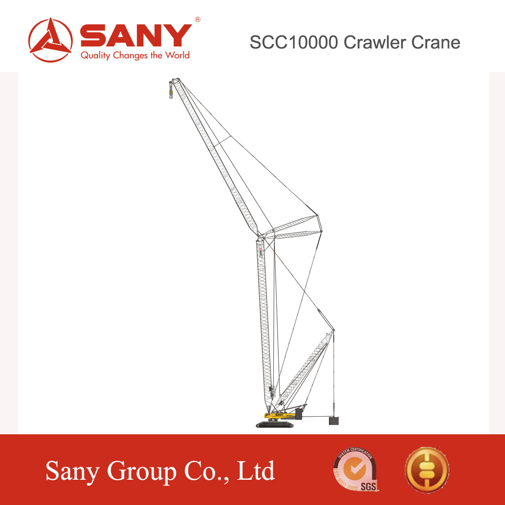 SANY SCC10000 New Technology hydraulic crawler crane sany 1000t