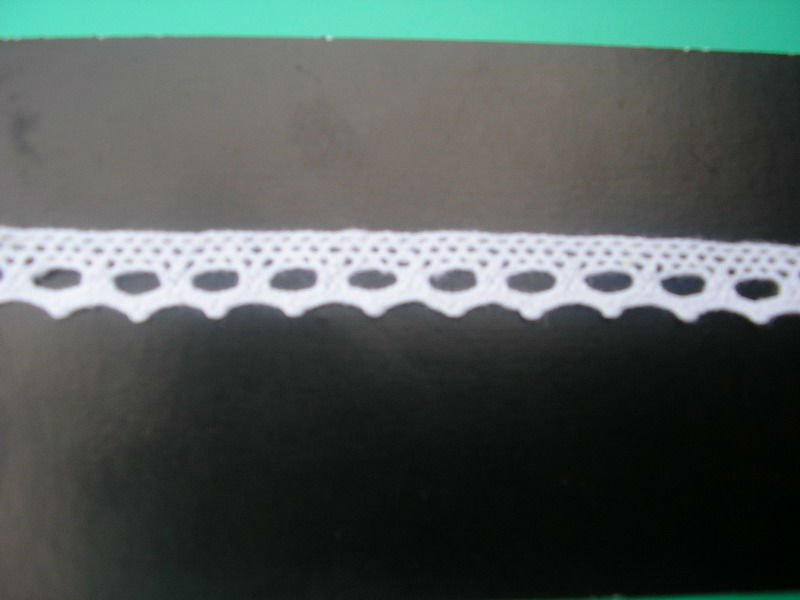 Good Quality 100% Cotton Eyelet Crochet Lace Trim