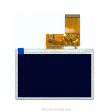Hight bright 4.3 inch TFT LCD projected capacitive touch screen panel