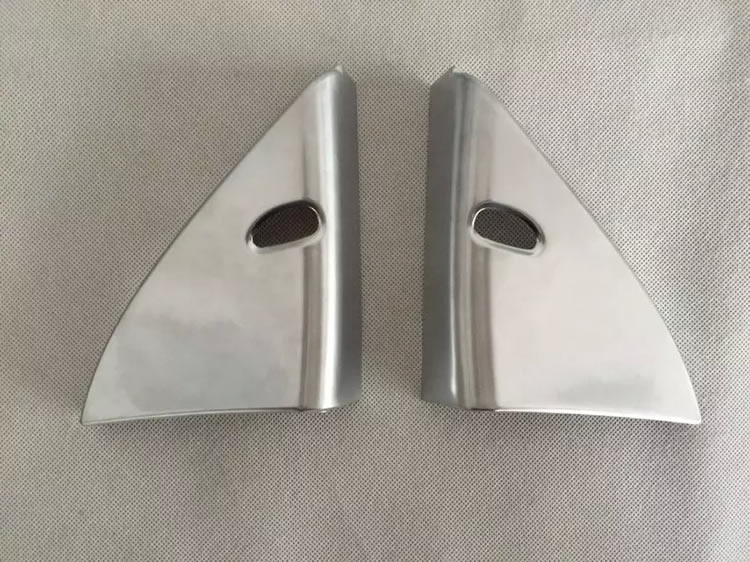 car accessories ABS Chrome front glass inner trim for qashqai parts 2016