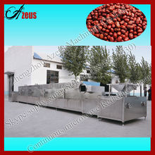 Continuous microwave Chinese date dryer/food drying oven 0086-18848829030