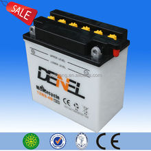 high start rechargeable battery 12v 9ah/maintenance free dry charge battery