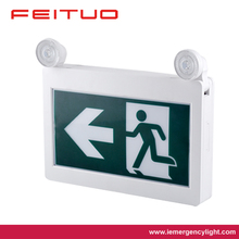 CANADA cUL CSA Lised LED Emergency Running man Light with emergency light and exit sign JRMECW 1119AB