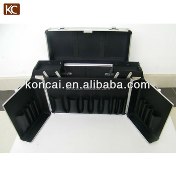 Best Quality & Professional Aluminum Hair box case with trolley & wheels,Hairdressing tool case,hair stylist tool case