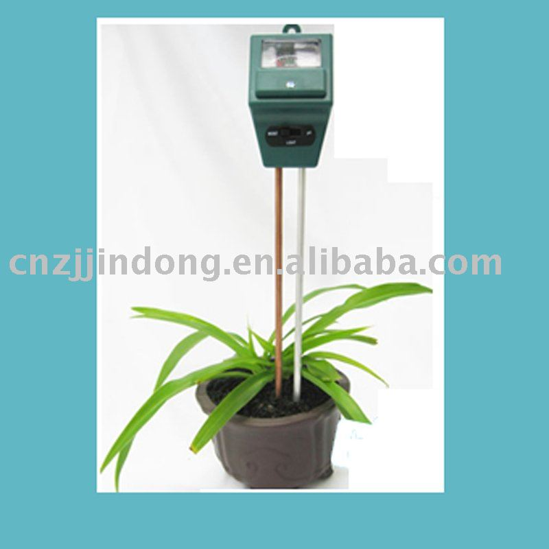 New portable factory selling 3 in 1 soil moisture PH light meter plant hydroponic