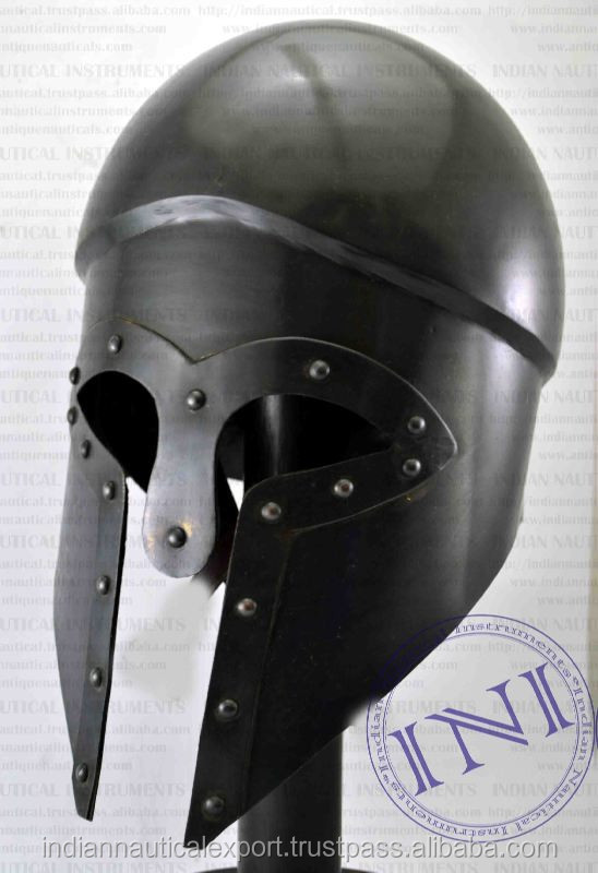 Greek Armour Helmet, Warrior Armour Helmet, Replica Armour Helmet