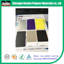 spray epoxy polyester ral pantone color powder coating paint