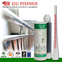 fastening anchor for handrail epoxy steel glue