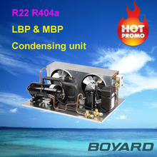 r22 r404a cooling compressor condenser unit for true commercial refrigerators used refrigeration units for trucks