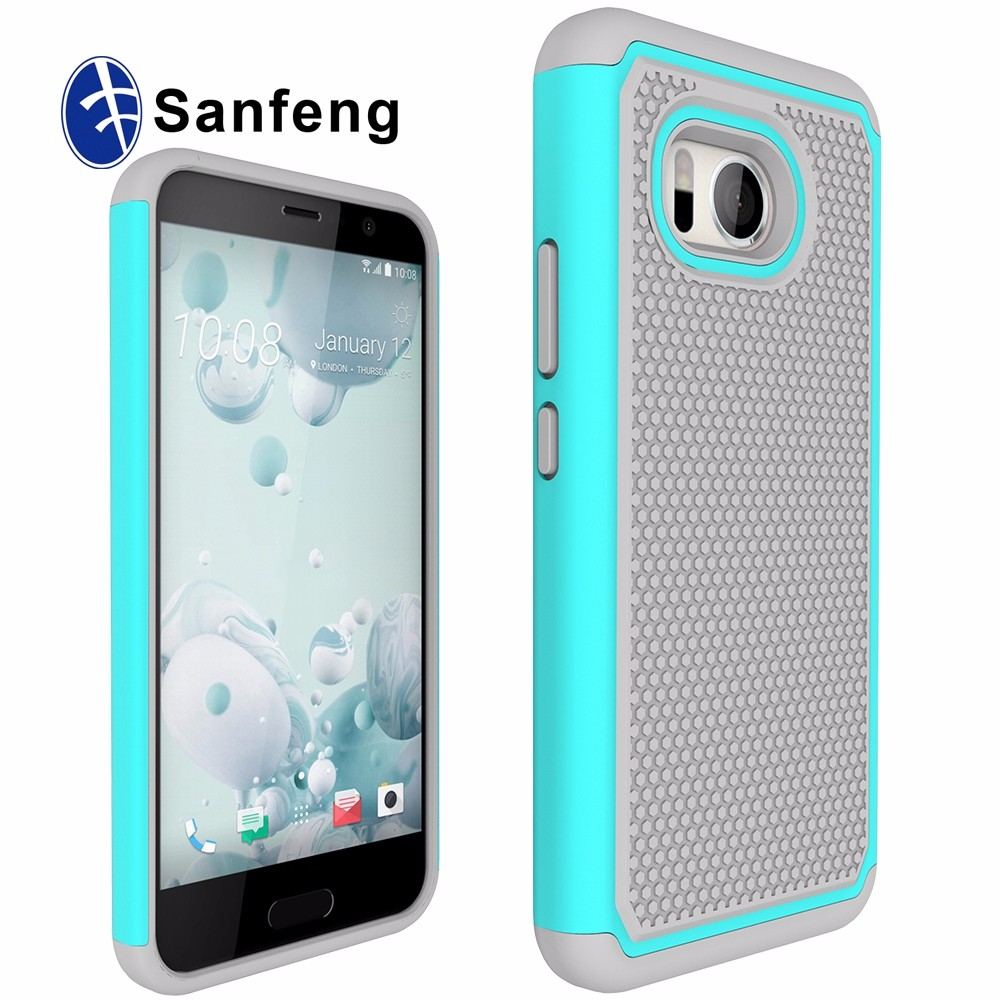Cover Suppliers from China 3 in 1 Silicone Phone Case for HTC Ocean with raised dot