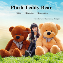 Wholesale Large Size Plush Giant Teddy Bear Toys 180cm 200cm