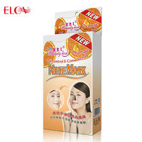 Orange extract Oil-control & black head mask nose mask