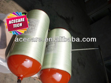 Wrapped Fiberglass Gas Cylinder, CNG type II Cylinder For Car