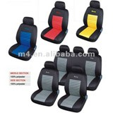 Whole set embroidery car seat cover pack