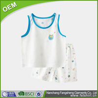 fashion design children cute warm pajamas sets for baby boys