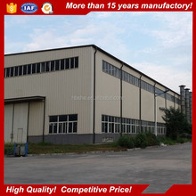 prefabricated industrial steel structure storehouse / warehouse design