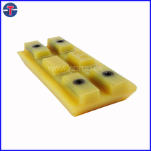 Polyurethane Track Pad/track shoe For Cold Planer