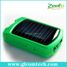 550 mah capacity solar charger speaker for cellphones with 3led flashlight