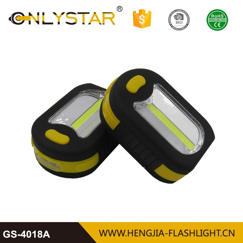 construction inspection ABS housing portable work light strong magnet cob led compact work light