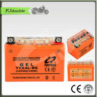 YTX4L-BS 12V4AH 20HRVSEALED LEAD ACID GEL MOTORCYCLE BATTERY