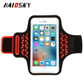 For apple iphone 6 Lycra sport arm bag,mobile phone Sport Armband Case with Key Holder