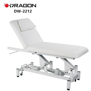 DW-2212 White electric facial cosmetic Beauty Treatment bed