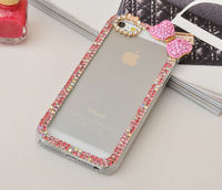 Wholesaler diamond crystal bling bumper for iPhone 6 6s