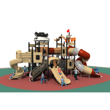 Kids Playground Outdoor Pirate Ship Playset