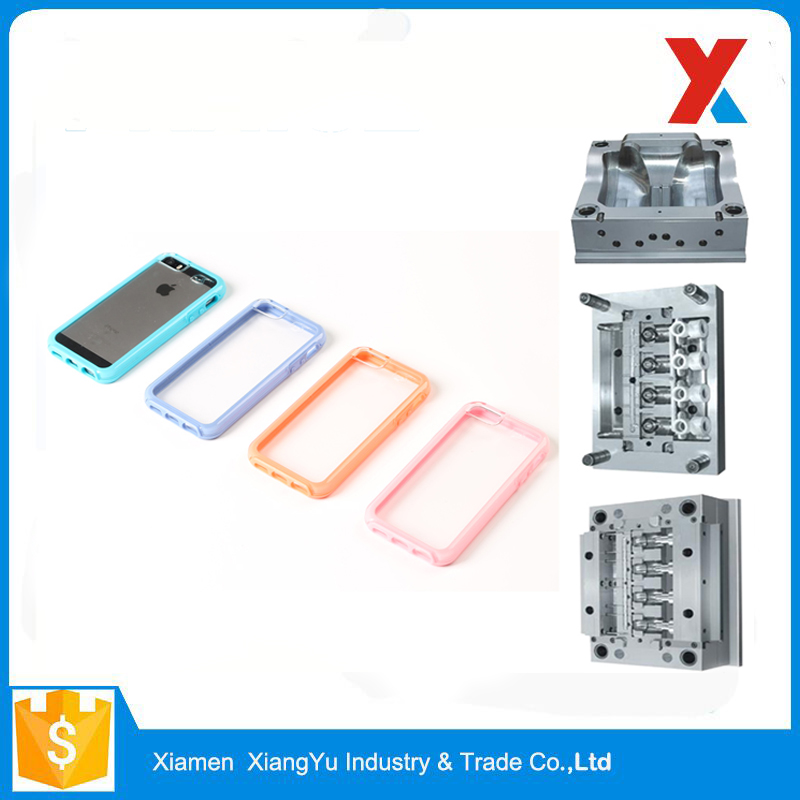 Rapid Heat Dissipation Fashion Customized Mobile Phone Case Plastic Injection Mould