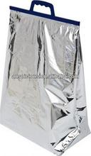 Strong aluminum foil thermos cooler bag keep cool plastic bag