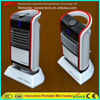 2016 latest new Mini colorful Electric Air Heater Fan